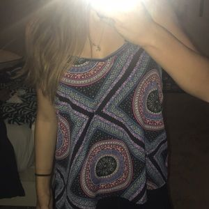 Patterned Hollister tank